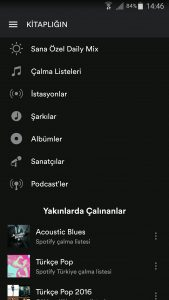 spotify-android-uygulama