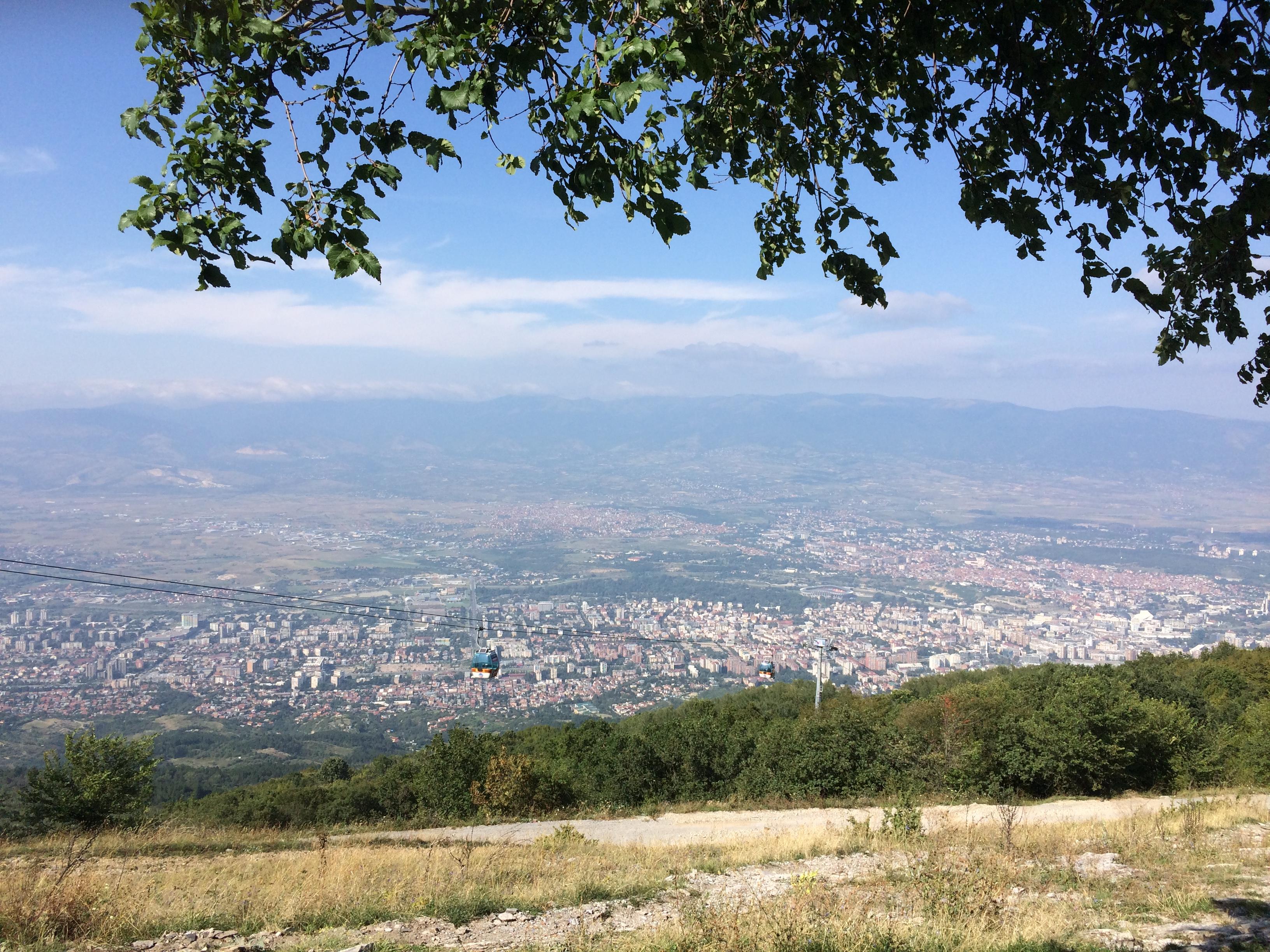 vodno-dağı-uskup-manzara